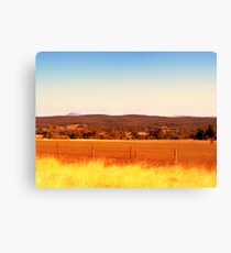 layers of land Canvas Print