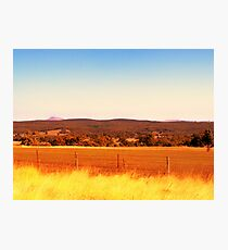 layers of land Photographic Print