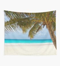 Tropical Palm Trees Wall Tapestry