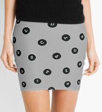 Black Keys Mini Skirt