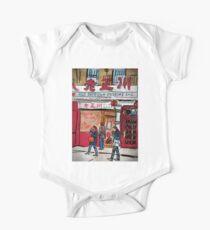 Body de manga corta para bebé Chinatown Cuisine