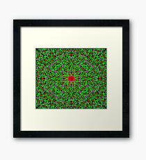 Flowers and Vines Framed Print