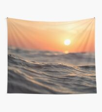 Ocean Sunset Wall Tapestry