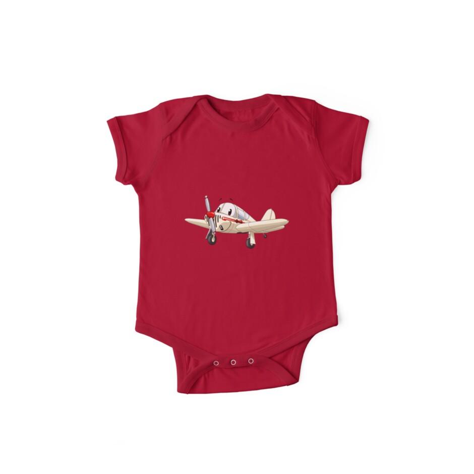87604e36fc Toon airplane - Globe Swift
