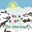 The Himalayas  by thekohakudragon