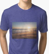 Sunspot Sunshine Sunset Tri-blend T-Shirt
