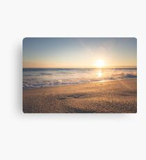 Sunspot Sunshine Sunset Canvas Print