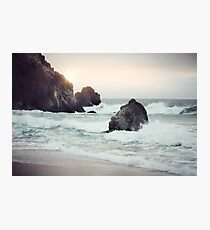 West Coast Beach Photographic Print