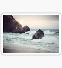 West Coast Beach Sticker