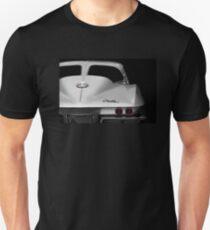 1963 Corvette Detail - Hoher Kontrast Slim Fit T-Shirt
