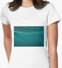Under water Women's Fitted T-Shirt