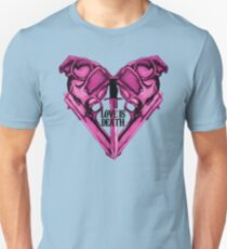 Love Is Death Heart Weapons T-Shirt