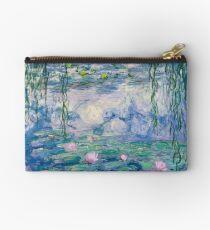 Water Lilies Claude Monet Fine Art Studio Pouch