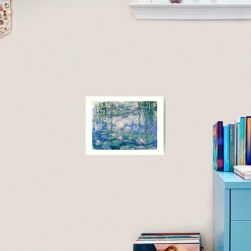 Water Lilies Claude Monet Fine Art Art Print
