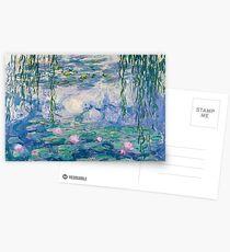 Seerosen Claude Monet Fine Art Postkarten
