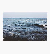 Lámina fotográfica Ola del océano