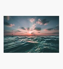 Sunset Paradise Photographic Print
