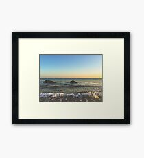 Oregon Ocean Framed Print