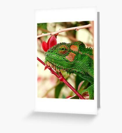 Rosey Cheeks Greeting Card
