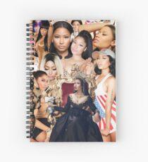 Queen Nic  Spiral Notebook