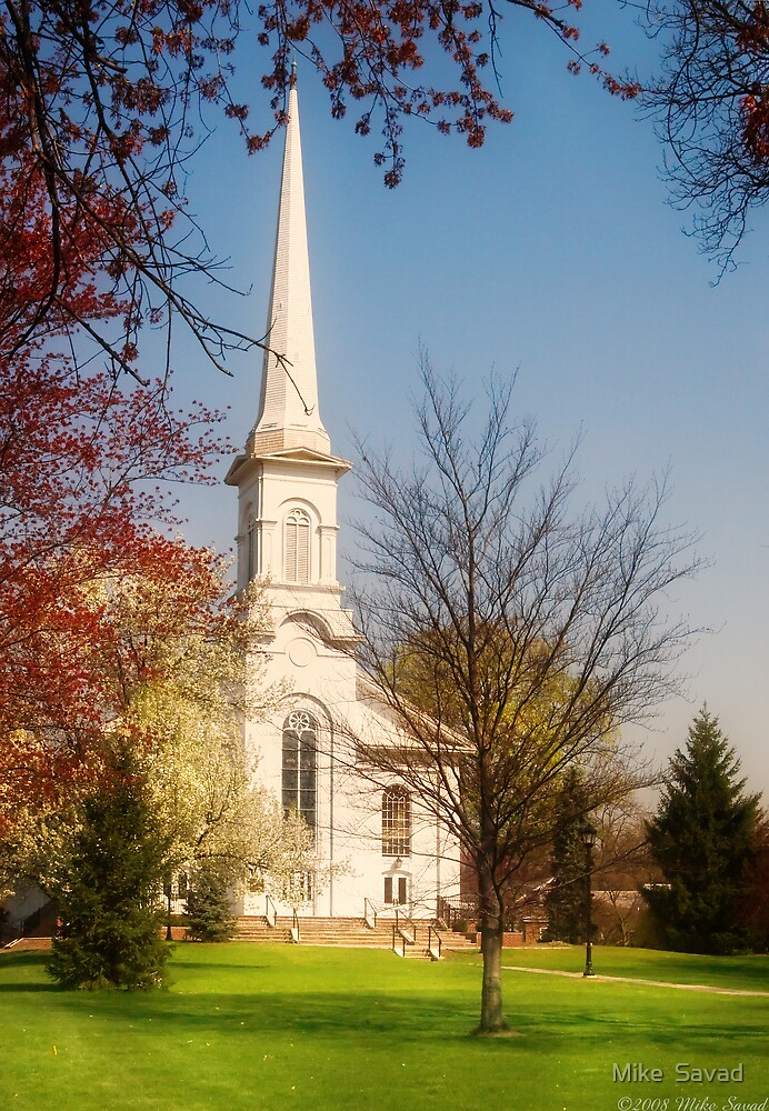 Westfield Presbyterian Church by Michael Savad