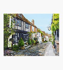 Down Mermaid Street Photographic Print