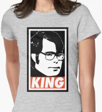KING Women's Fitted T-Shirt