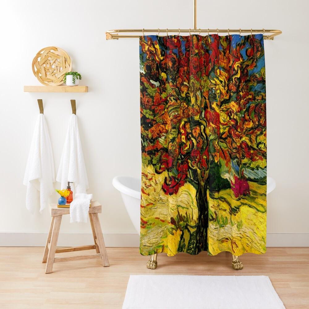 Van Gogh Mulberry Tree Shower Curtain