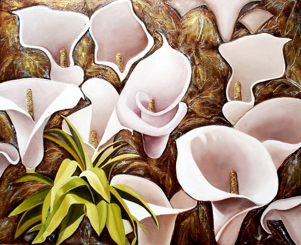 Lilies by KarenKristensen