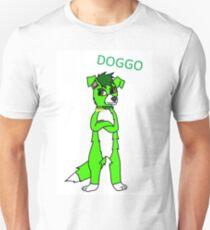 Green Dog Fursona T-Shirt