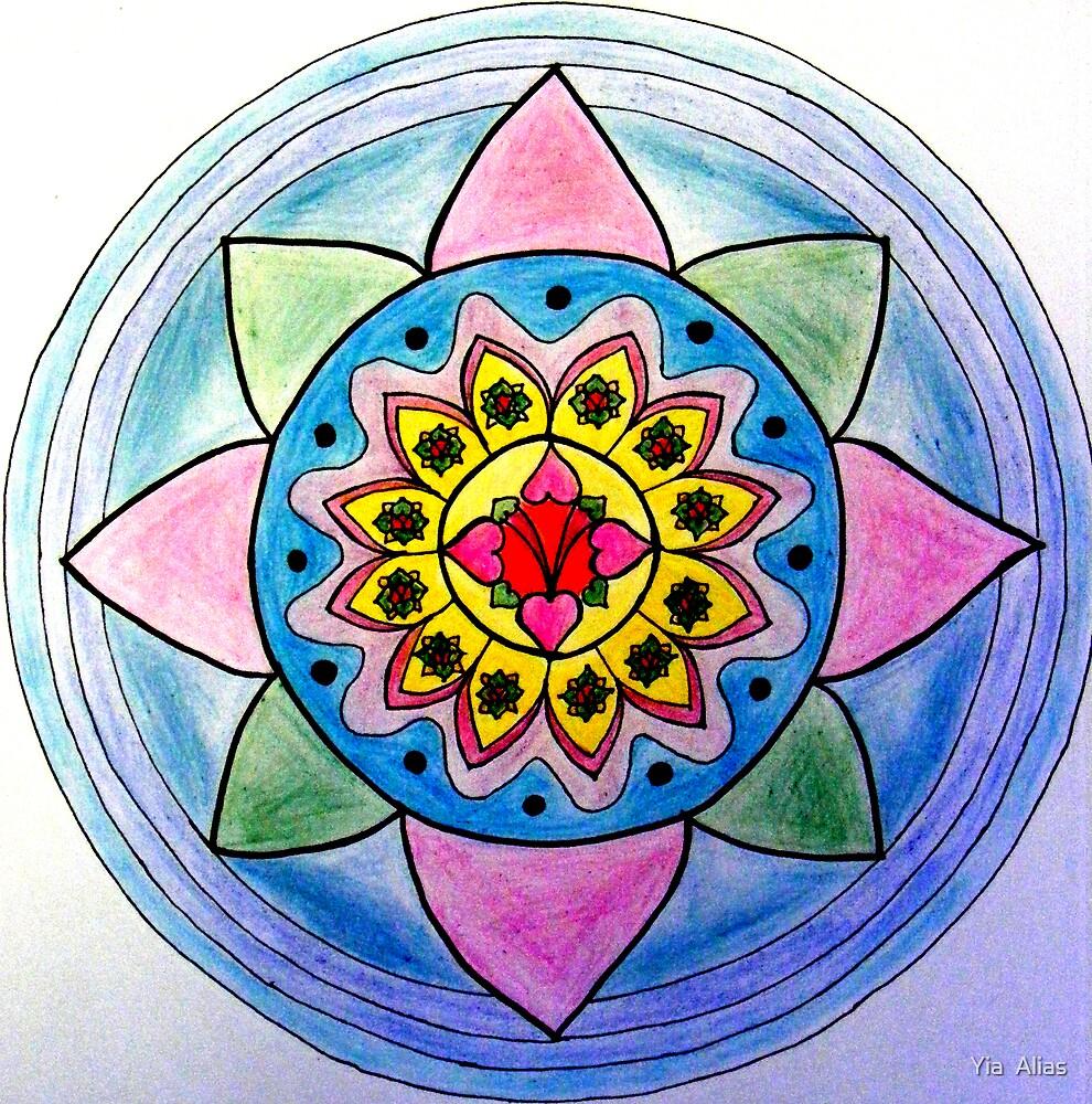 Aphrodite Mandala by Yia  Alias