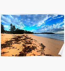 Palmie - Sydney Beaches - Palm Beach, - The HDR Series - Sydney,Australia Poster