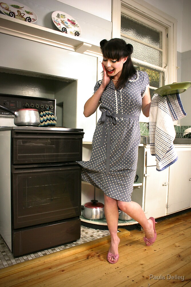 Oven Catcher by Paula Delley