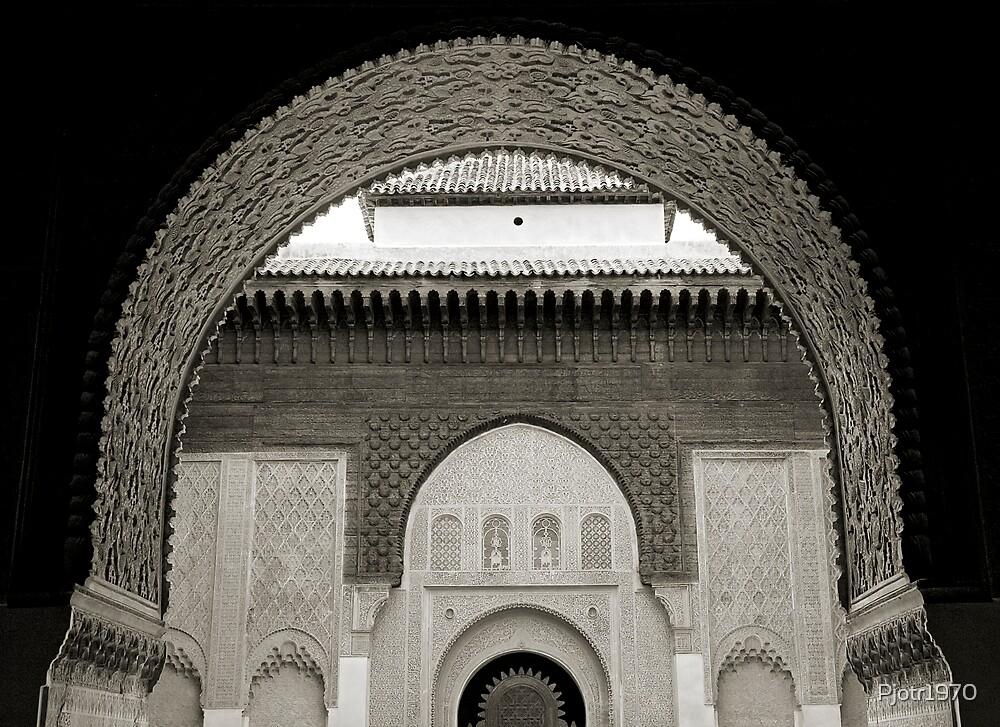 Medressa in Marrakech Morocco by Pjotr1970