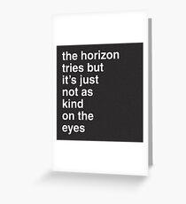 Arctic Monkeys - Arabella Greeting Card