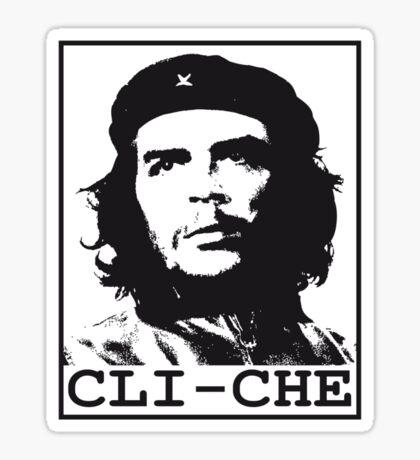 Cli-Che Sticker