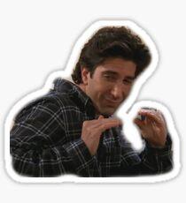 Ross Says Quiet Sticker