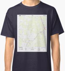 USGS TOPO Map Florida FL Elkton 20120702 TM Classic T-Shirt