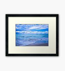 Sunrise Beach Framed Print
