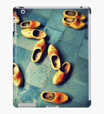wooden slippers in Holland iPad Case/Skin