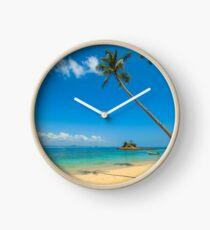 Reloj Palmeras tropicales