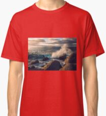 Rocky Shore Waves Classic T-Shirt
