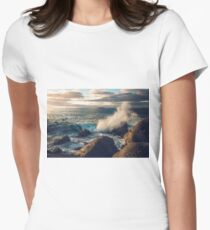 Rocky Shore Waves T-Shirt