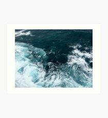 Little Wave Art Print