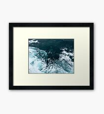 Little Wave Framed Print