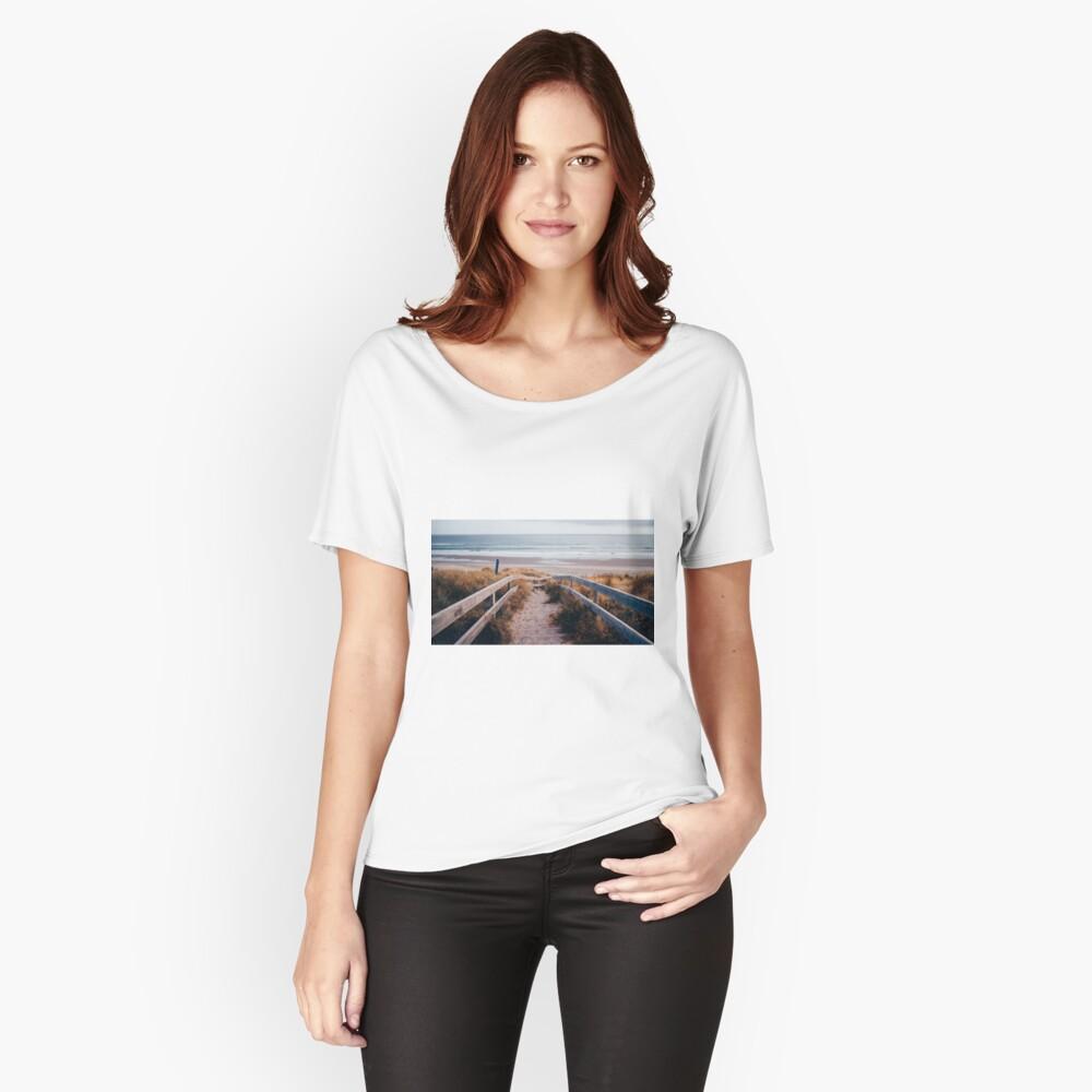 Camino al Paraíso Camiseta ancha