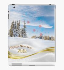 Great background image for creating Holiday Greeting postcards or computer wallpapers iPad Case/Skin