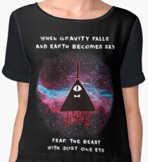 When Gravity Falls Chiffon Top