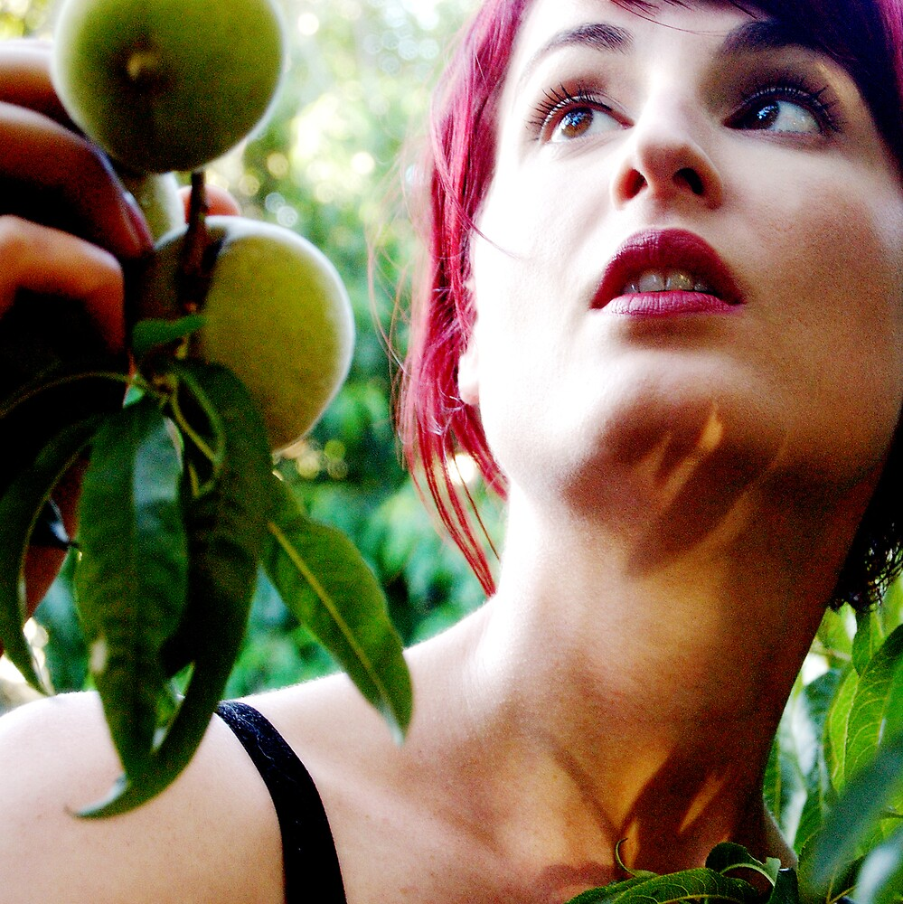 forbidden fruit #1 by Bronwen Hyde
