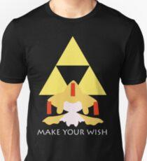 Make your Wish – Shiny Slim Fit T-Shirt